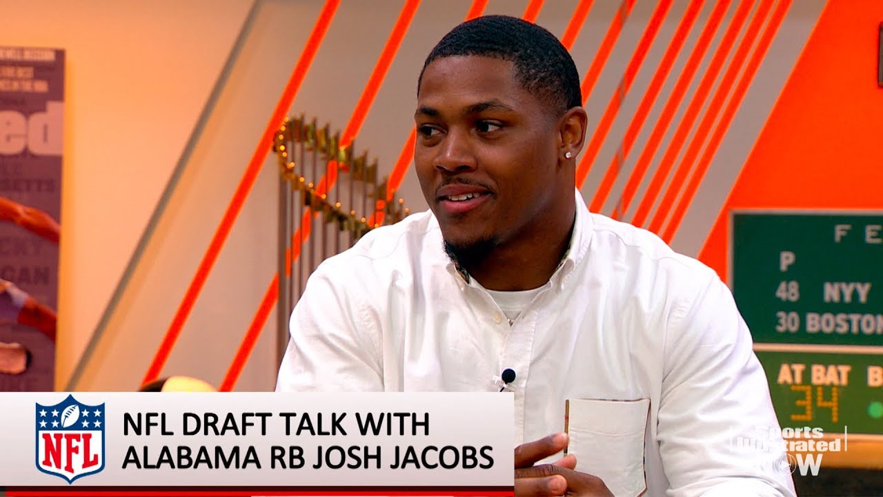 Josh Jacobs on the NFL Draft and his Unstable Childhood