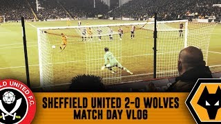 EX-PLAYER CURSE! - Sheffield United 2-0 Wolves VLOG