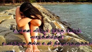 Kangal thirakkum enthan maname tamil love sad song