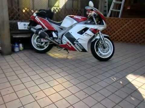 FZR FZR1000 YAMAHA 3GM ヤマハレーシング - YouTube