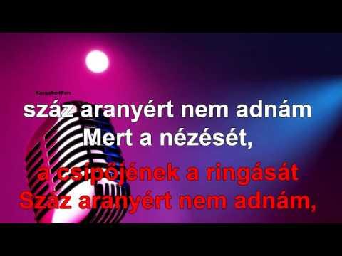 Mulatós karaoke - Nézését meg a járását (Karaoke)