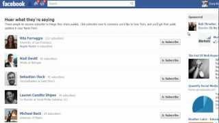 Facebook Subscriptions by iMacros Geek