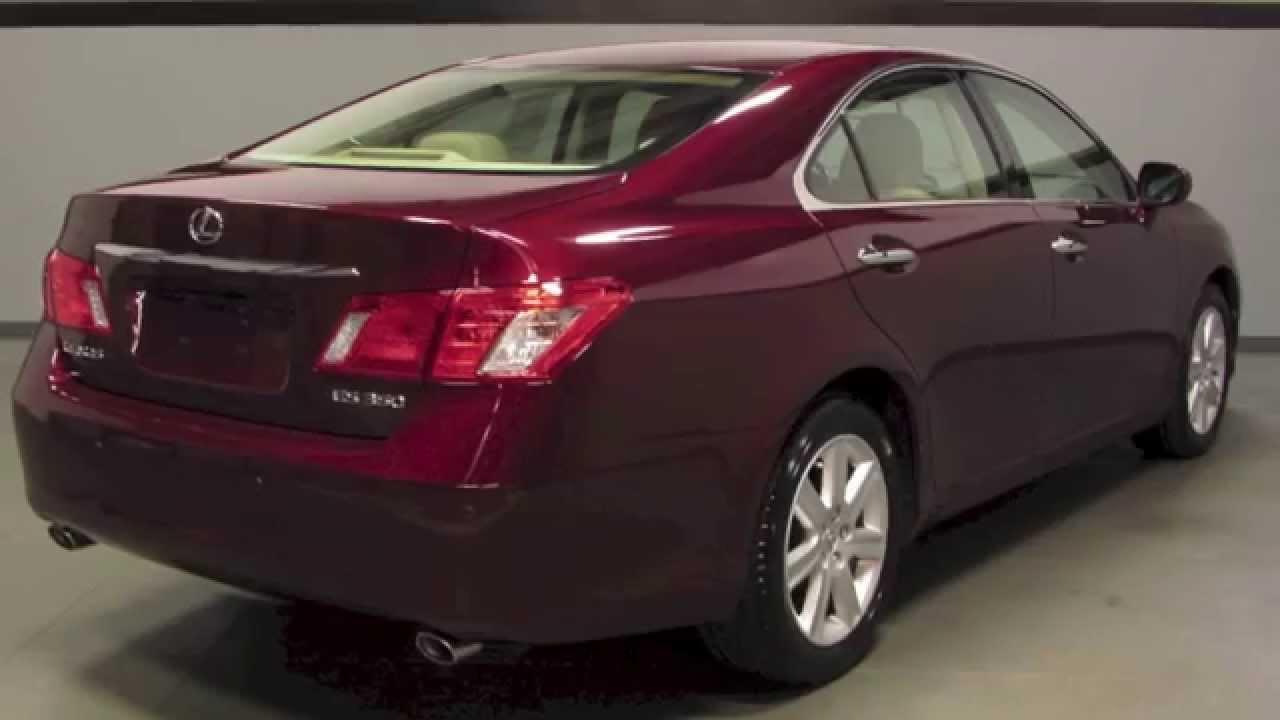2008 lexus es 350 premium plus package in richmond va l151350a