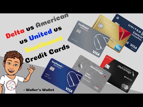 Delta Vs American Vs United Vs Southwest Credit Cards: Part 1 | Waller's Wallet