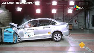 Crash Test Ncap Maruti Suzuki Ciaz vs Volkswagen vento vs Honda city vs Hyundai Verna