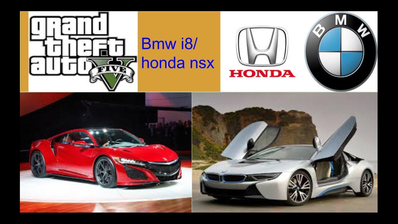 Gta V How To Get The Bmw I8 Hybrid Honda Nsx Youtube