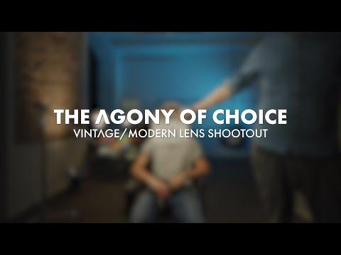 The Agony Of Choice - Vintage/Modern Lens Shootout