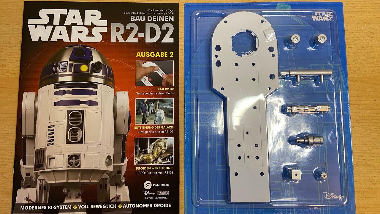 1:2 Maßstab DeAGOSTINI Star Wars Baue Deinen Eigenen R2-D2 Ausgabe 89 Komplett
