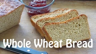 Easy Bread Recipe - Whole Wheat Bread Recipe -- The Frugal Chef