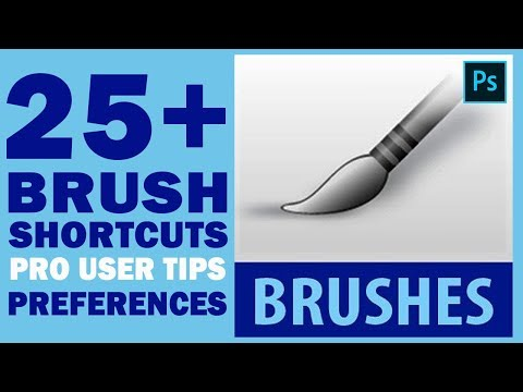 25+ Brush Shortcuts, Pro User Tips & Important Preferences In Adobe Photoshop 2019