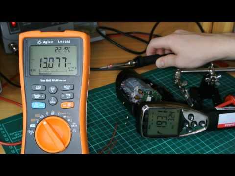 #1-1 Reparatur: testo 845 IR - Thermometer