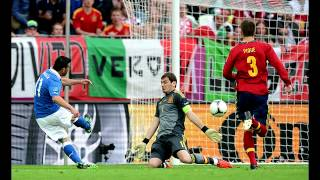 Spain Vs Italy - Euro 2012 Final  1/7/2012 - All Goals Highlights (HD) Spain 4 - 0 Italy