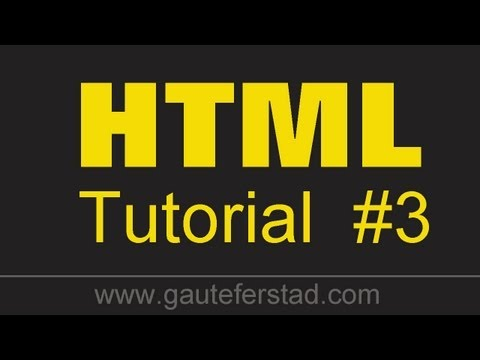 HTML Tutorial 03 Basic Tags #2 And Nesting