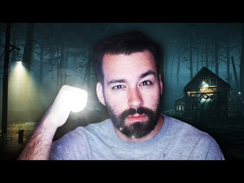 Man Fumbles Through 'Scary' Game And Yells At Trees (Blair Witch Funny Moments/Highlights)