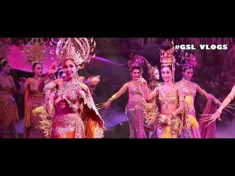 Mumbai to Bangkok then Alcazar Show Cabaret Dance 5th Gsl Vlog