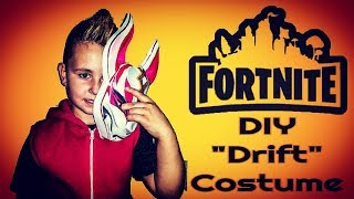 "DIY: FORTNITE Costume ""Drift"" Skin In Real Life"