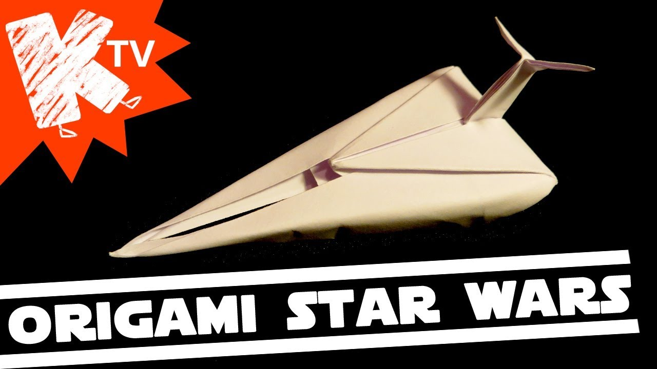 Extremegami: How to make a origami X Wing   720x1280