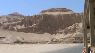 Way to Hatshepsut Temple, Egypt, Luxor