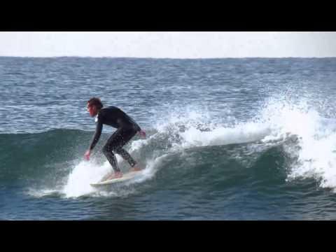 Surfing ~ Oceanside Jetty Jan 1st, 2013