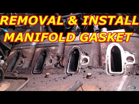 2000 Chevy Tahoe 5.3  Intake Manifold Gasket Replacement