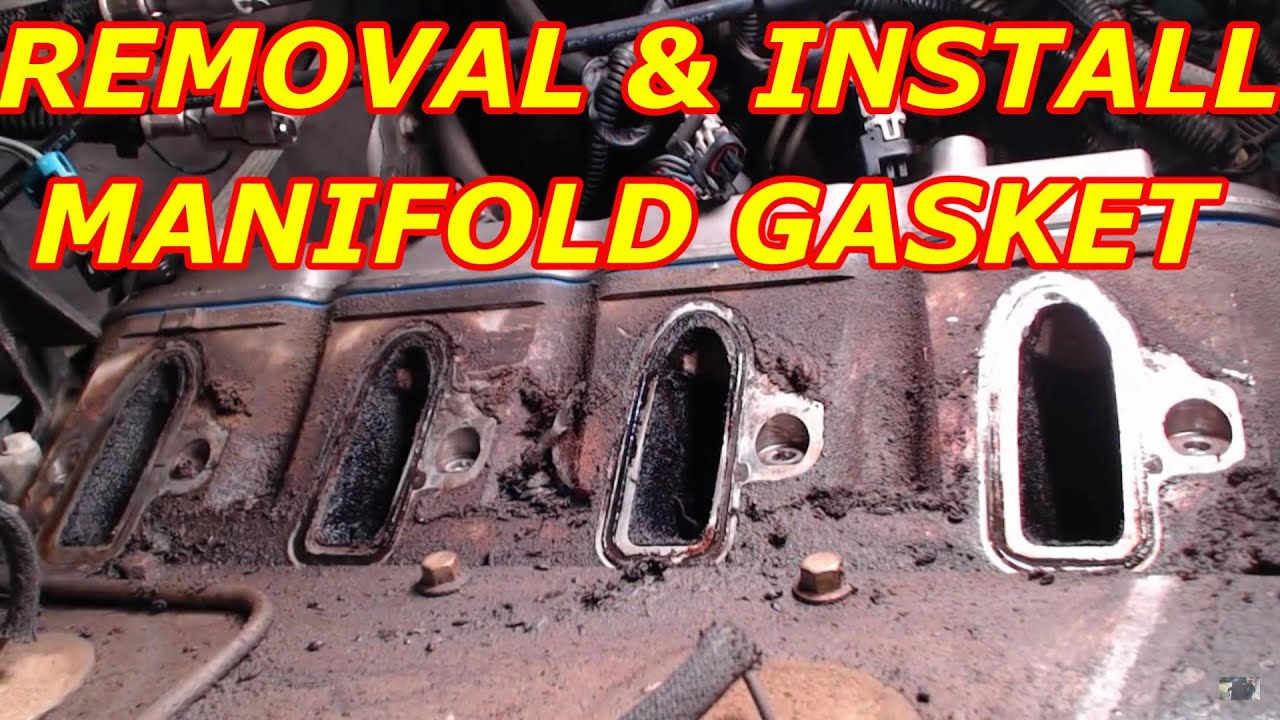 2000 Chevy Tahoe 5.3 Intake Manifold Gasket Replacement ...
