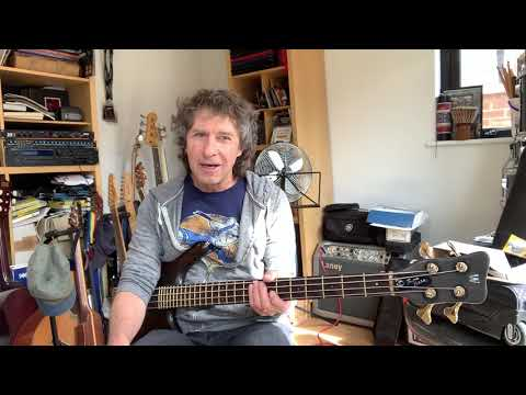 Pete Trewavas - Masterclass 1 - Alone Again In The Lap Of Luxury