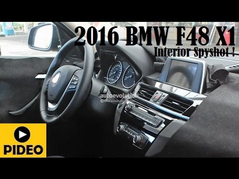 2016 bmw f48 x1 spyshot and clear view without camouflage. Black Bedroom Furniture Sets. Home Design Ideas