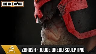 Zbrush Speed Sculpt Tutorial - Judge Dredd Character HD by Jay Hill