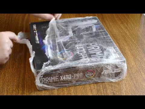 Материнская плата Asus Prime X470-Pro (sAM4, AMD X470, PCI-Ex16)