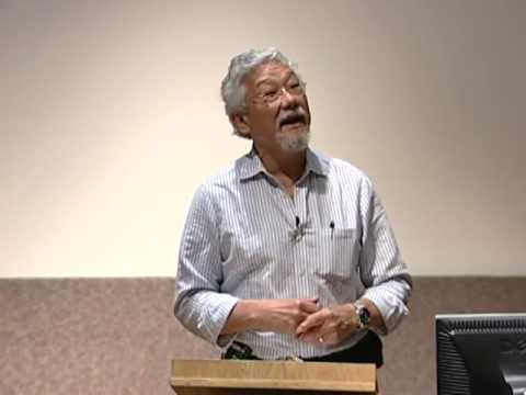 Dr. David Suzuki on Education for a Changing Biosphere