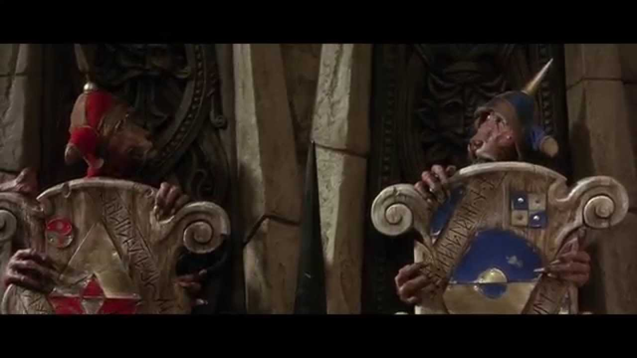 The Two Door Riddle From Labyrinth Youtube