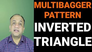 Multibagger Chart Pattern - Inverted Triangle - Moving Average Crossover
