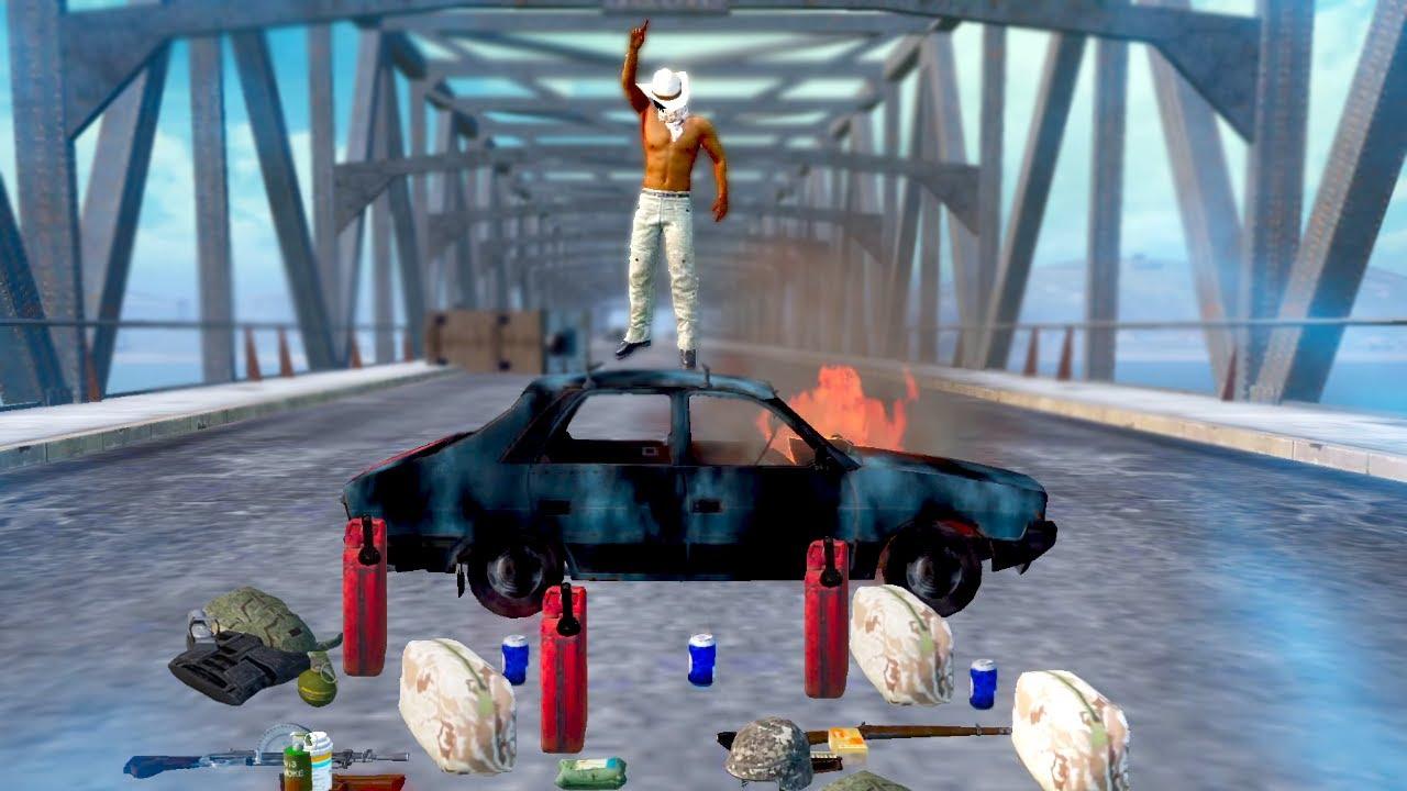 ضحايه مقلب الجسر في ببجي موبايل 😈 PUBG MOBILE