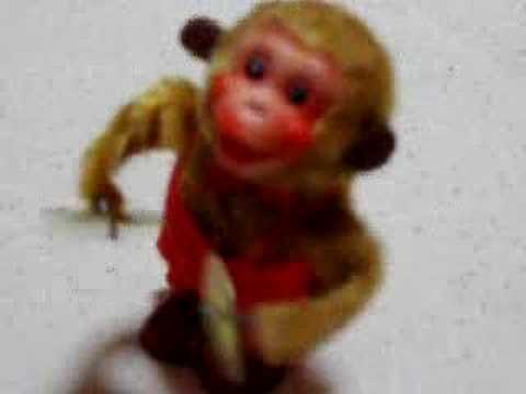 Musical Monkey wind up