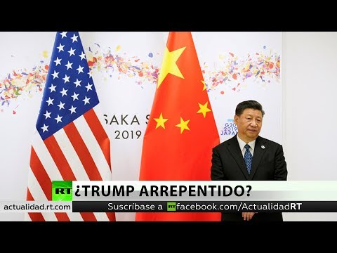 RT en Español: La Casa Blanca revela de qué se arrepiente Donald Trump en la guerra comercial con China