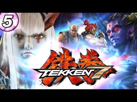 #5 KAZUMI DEMONE È BELLISSIMA 😍😍 KAZUYA È IL DIAVOLO👹👹 | Gameplay Walkthrough Tekken 7 Ita