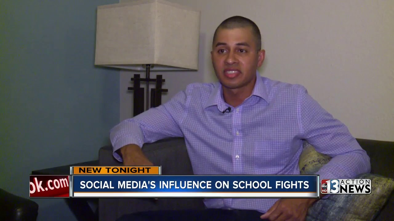 Download Social media's influence on school fights
