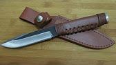 Нож из быстрореза Р6М5 как сделать от А до Я - YouTube