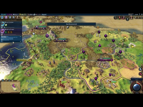 Civilization 6 Multiplayer (5 man, tiny)