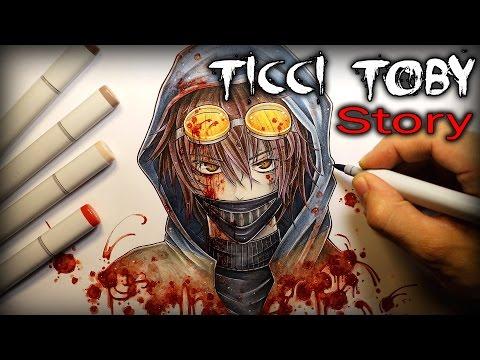 Ticci Toby: STORY - Drawing + Creepypasta (Kastoway)