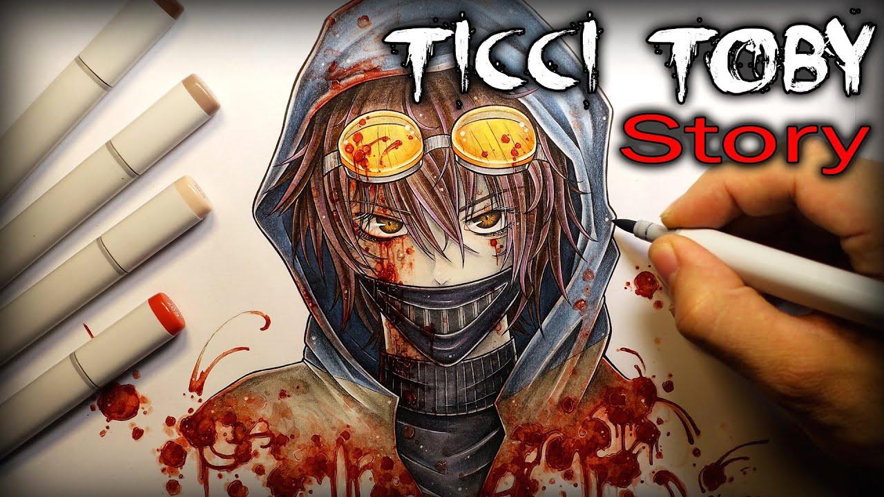 ticci toby story drawing creepypasta kastoway youtube