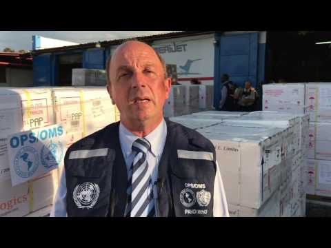 WHO: Oral cholera vaccines arrive to Haiti