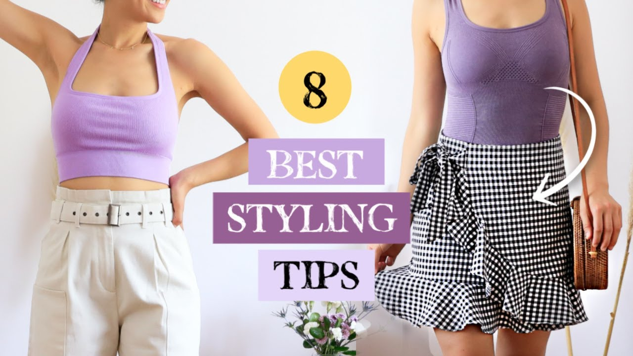 8 Best Styling Tips Every Girl Should Know For Summer Casual Summer Outfits Youtube
