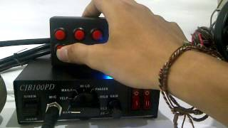 087 838 253383, Sirine Landun CJB 100 PD Whelen sound jumper, Sirine Polisi NET 86