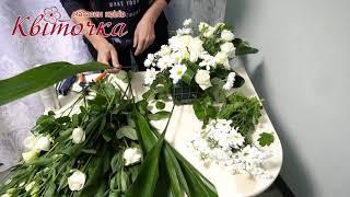 Украшение машины на свадьбу живыми цветами: мастер-класс