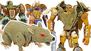 Transformers Legends mouse transfomation Rattrap appeared! #DuDuPopTOY