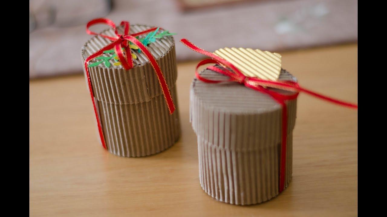 Especial De Navidad C Mo Hacer Una Caja Redonda Super