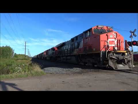 Railfanning the Twin Ports part 2 9-30-17 and 10-1-17