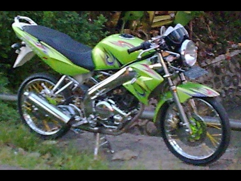 Video Modifikasi Motor Yamaha Vixion Old Velg Jari Jari