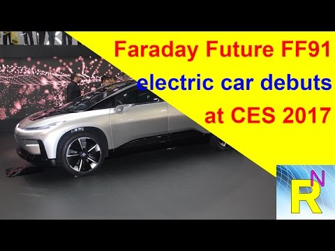 Car Review - Faraday Future FF91 Electric Car Debuts At CES 2017 - Read Newspaper Tv